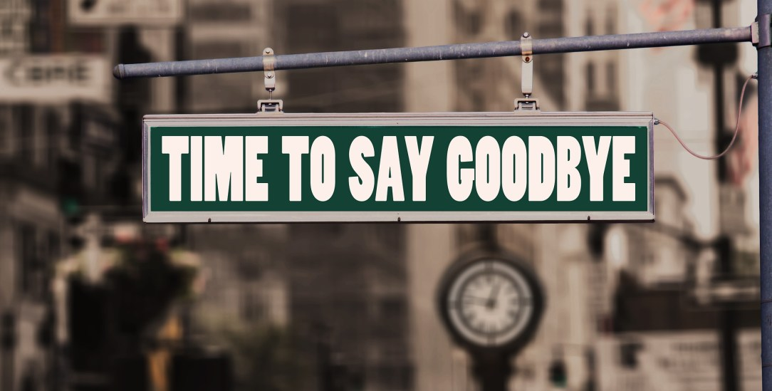 Getting laid off - so many goodbyes