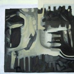 Into the Underworld. Oil on canvas. 2'x2'. 2014.