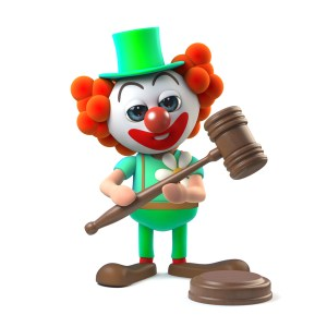 clown -- making the law better