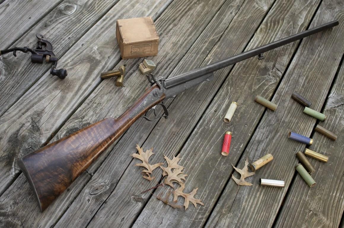 16g Pinfire Shotgun by Coirier à Clermont