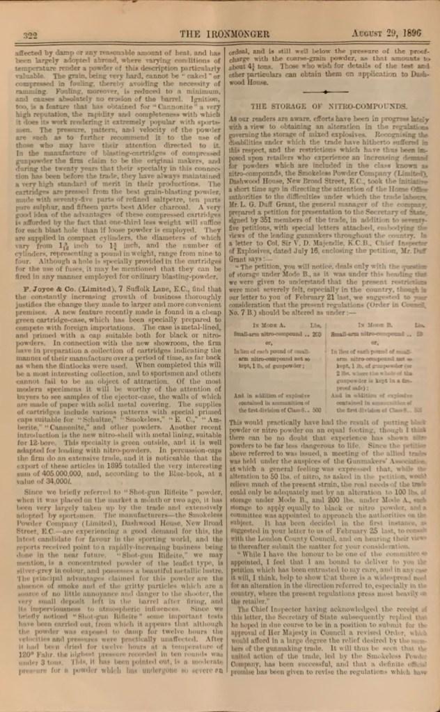 The Ironmonger, August 29, 1896