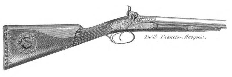 Rifle by Francis Marquis  illustrated in La Chasse Illustrée