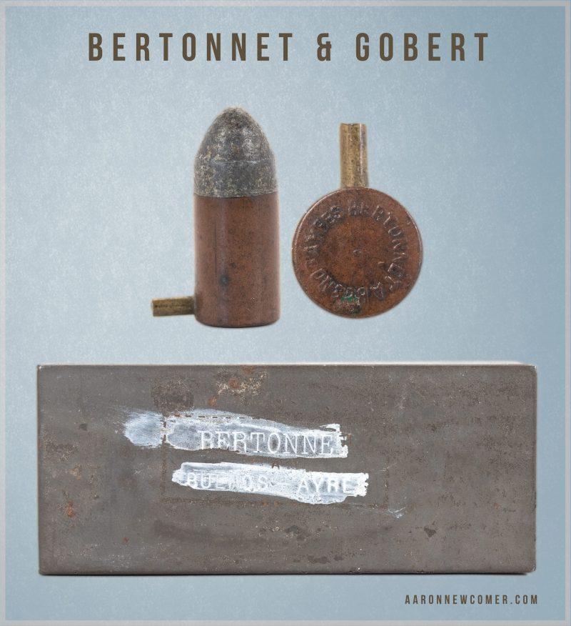 Bertonnet & Gobert Pinfire Cartridges