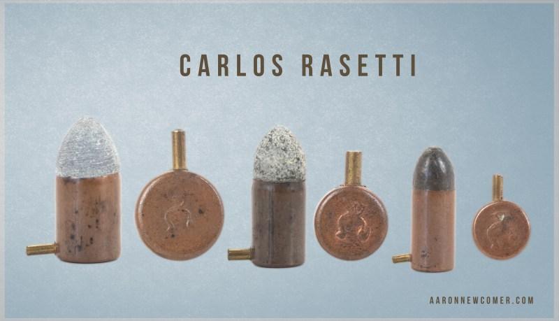 Carlos Rasetti Pinfire Cartridges