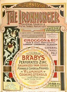 The Ironmonger Universal Engineer & Metal Trades Advertiser Autumn 1901 Issue