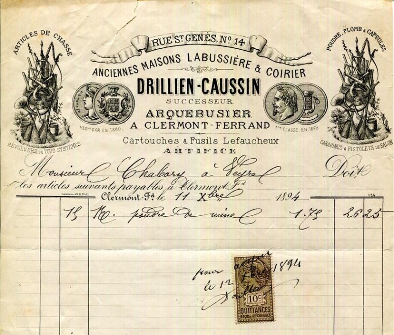 Drillien-Caussin ad