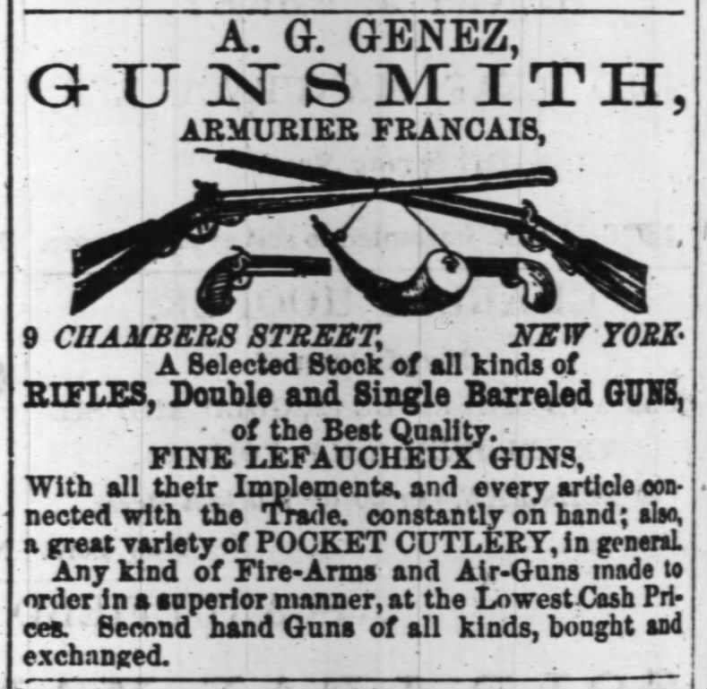 August Genez Gunsmith