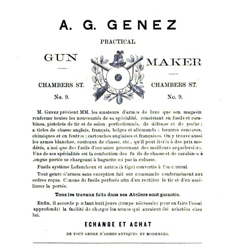 A. G. Genez Practical Gun Maker