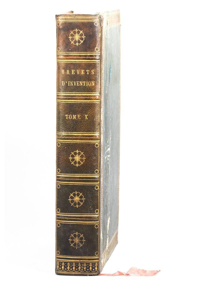 Front of Description des Machines et Procédés spécifiés dans les Brevets D'Invention