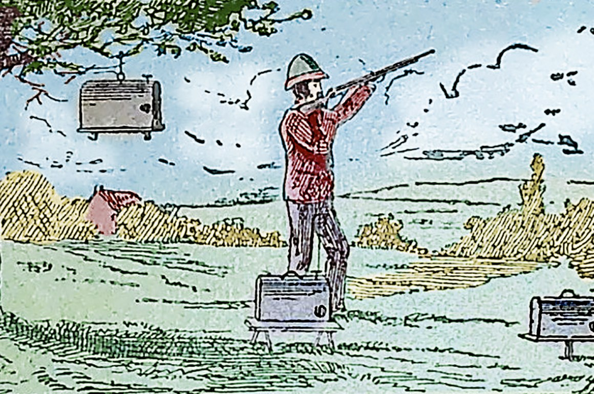 Charles Millichamp Clock Gun
