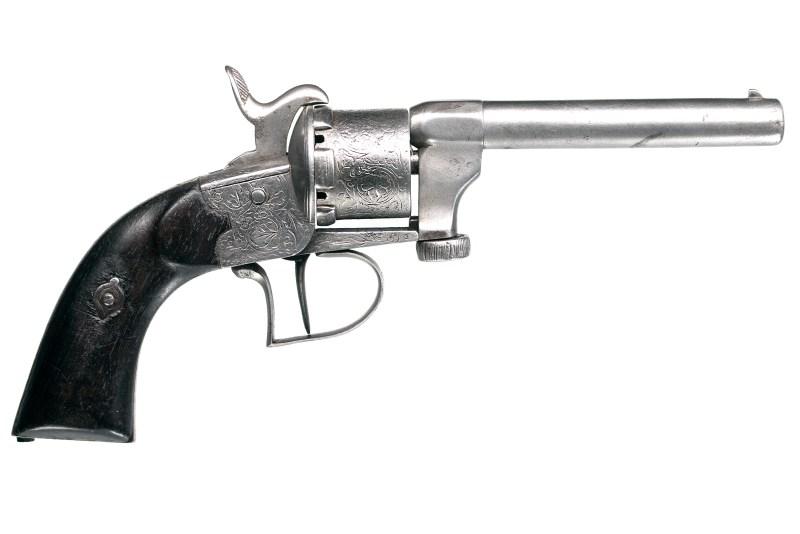 Mariette Patent Single-Action Revolver