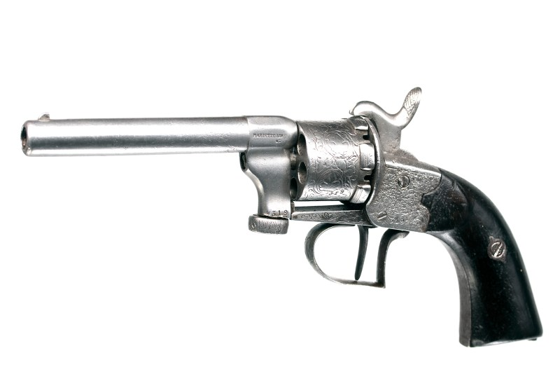 Mariette Patent Single-Action Revolver