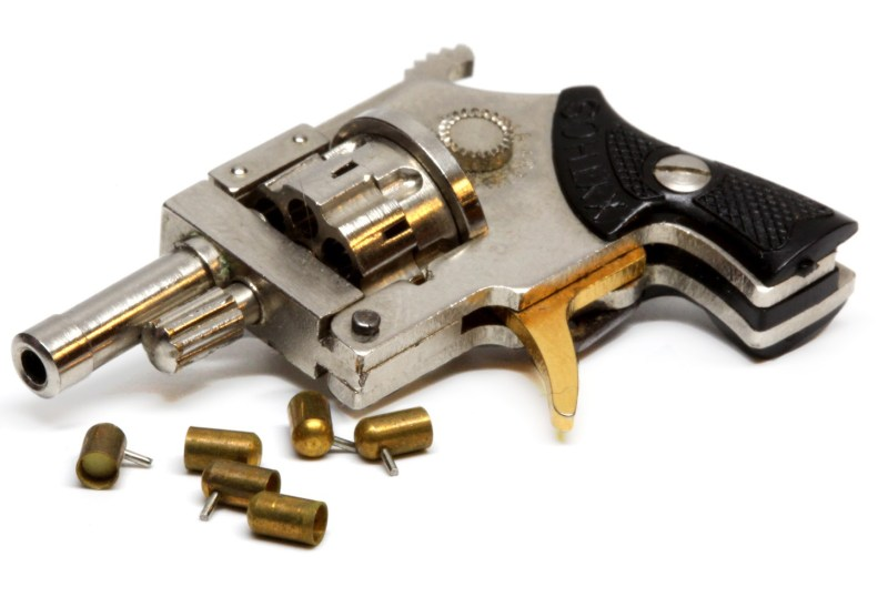Xythos Brand 2mm Pinfire Revolver