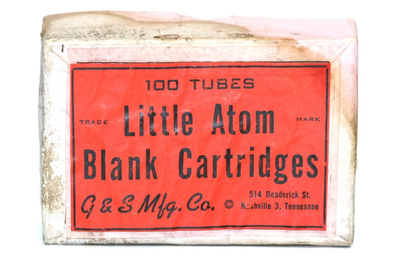 Box for 2500 2mm pinfire cartridges