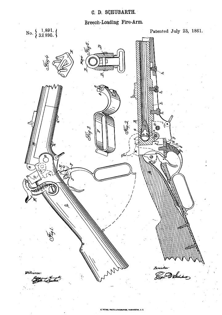 Casper D. Schubarth Patent
