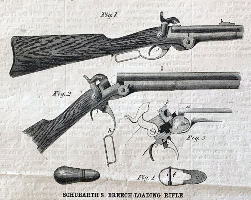 Schubarth's Breech-Loading Rifle