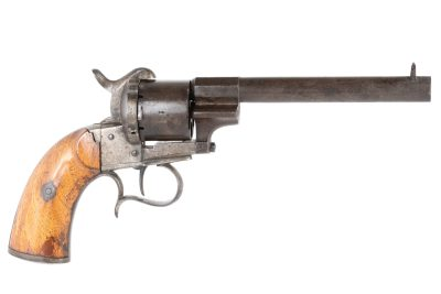 Belgian model 1854 Pinfire Revolver