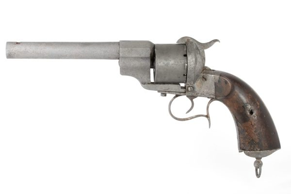 12mm French model 1854 Lefaucheux pinfire revolver