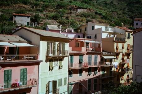 Houses in Manarola