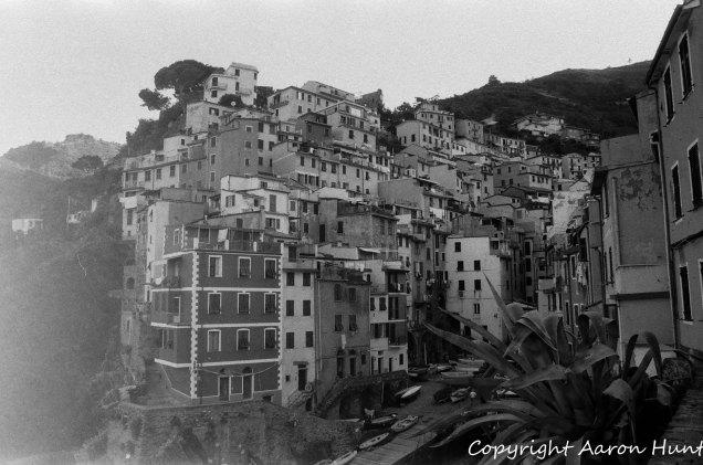 Houses on Riomaggiore marina