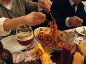 Dinner at Talioo - San Giorgio Cremano, Italy