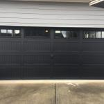 Black Garage Doors Are Trendy