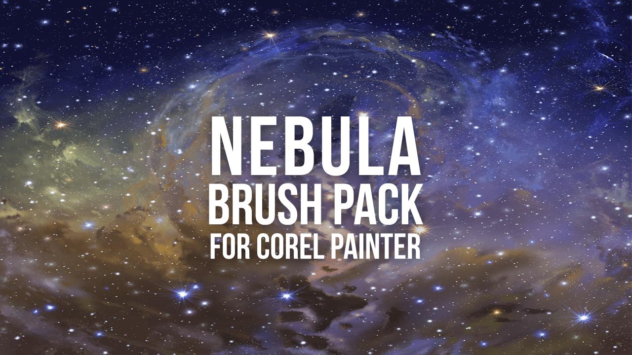 nebula brush pack for corel painter