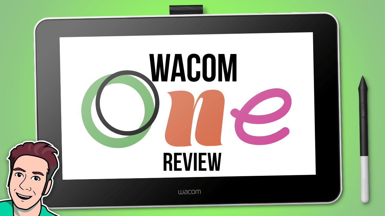 "Wacom One 13"" Creative Display Tablet"