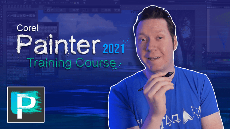 corel painter 2021 training course thumbnail