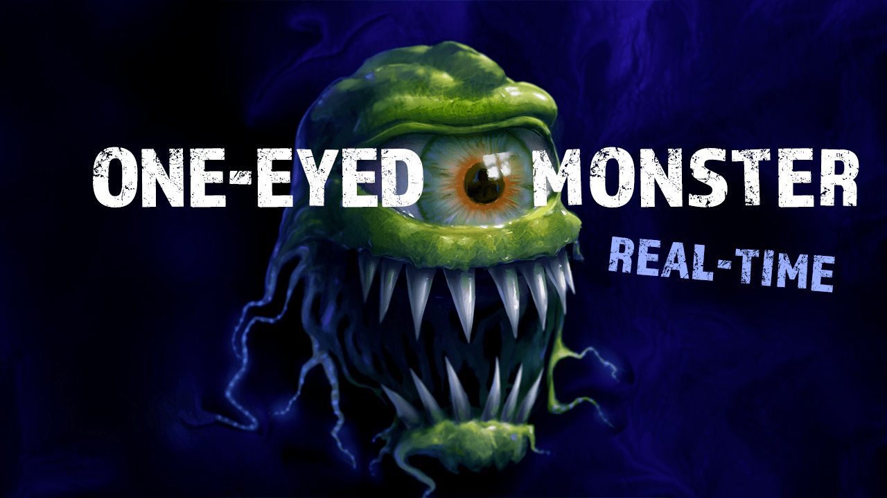 one eyed monster real time tutorial