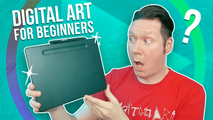 digital art for beginners (thumbnail)