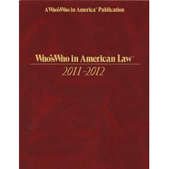 Stephen D Aarons in 2012 Marquis Whos Who in American Law