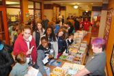 Lots of books and happy readers at 2015 children's lit fest