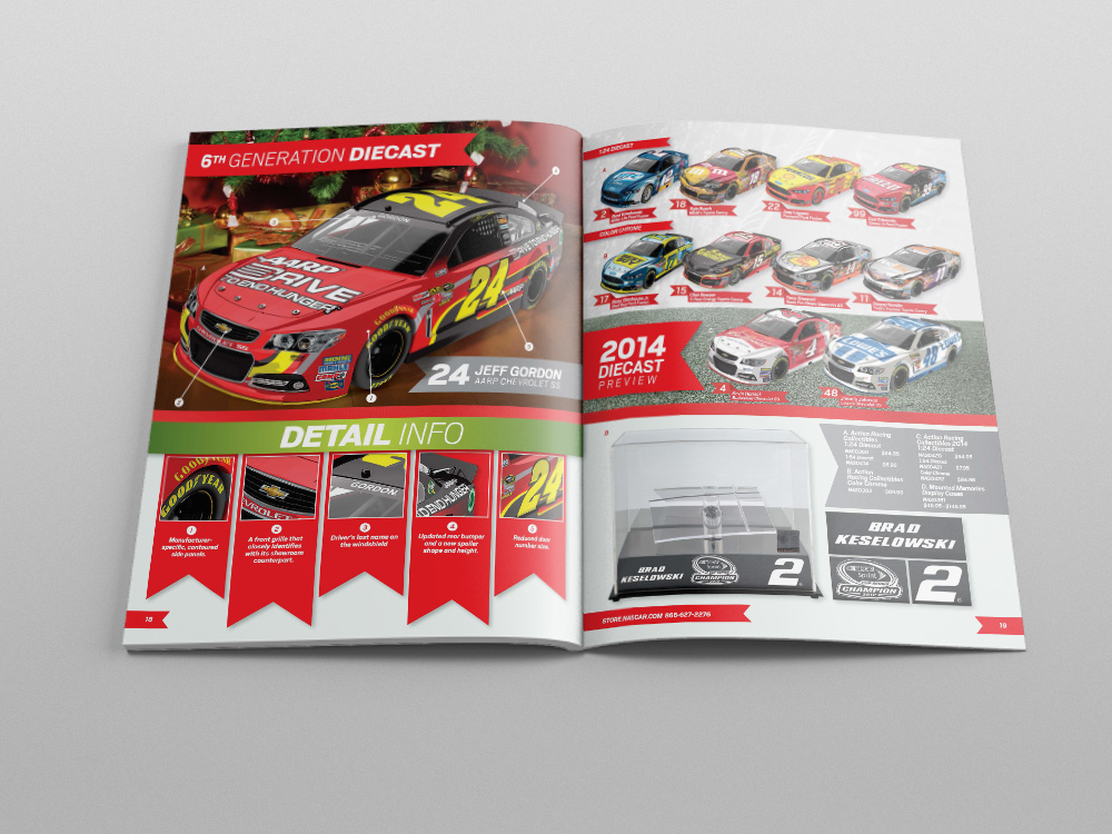 Store.NASCAR.com Holiday 2013 Catalog – Pages 20/21