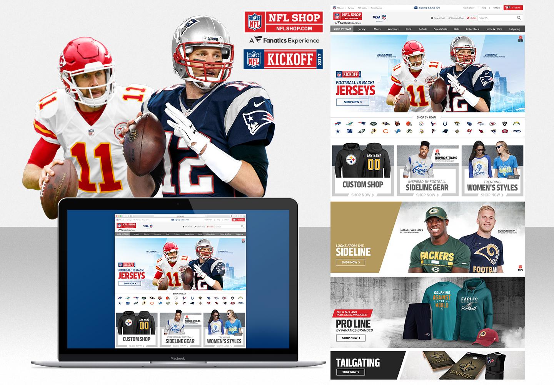 NFLSHOP – HomePage