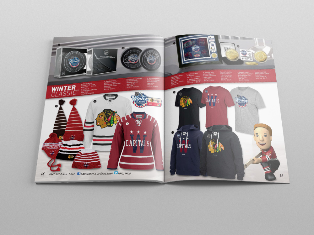 Shop.NHL.com Holiday 2014 Catalog – Pages 14/15