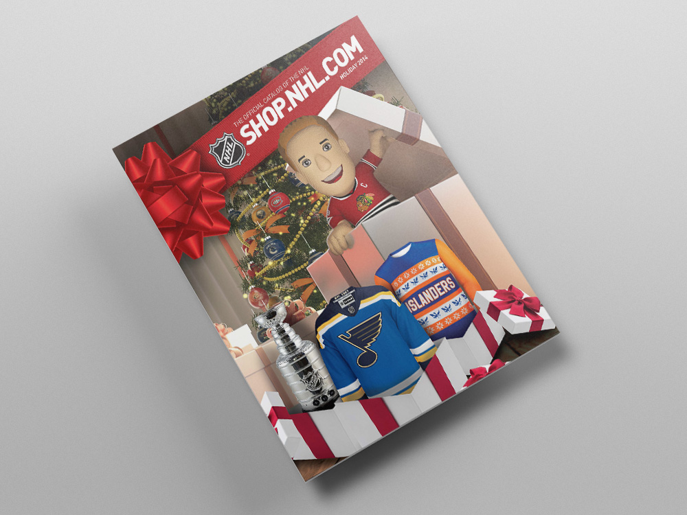 Shop.NHL.com Holiday 2014 Catalog – Cover