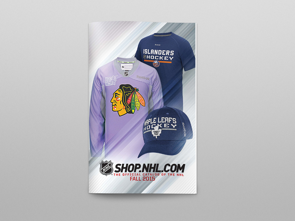 Shop.NHL.com Fall 2015 Catalog – Cover