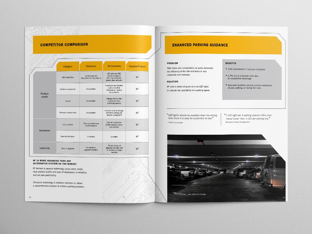 Park Assist Brochure – Pages 04/05
