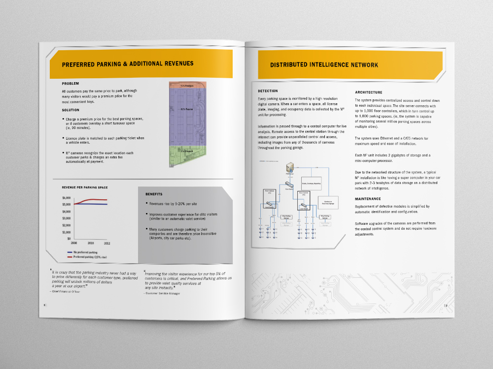 Park Assist Brochure – Pages 08/09
