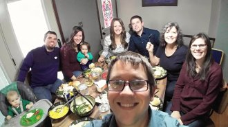 Thanksgiving with the family