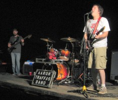 Aaron Traffas Band plays live music near Lawrence, Kansas
