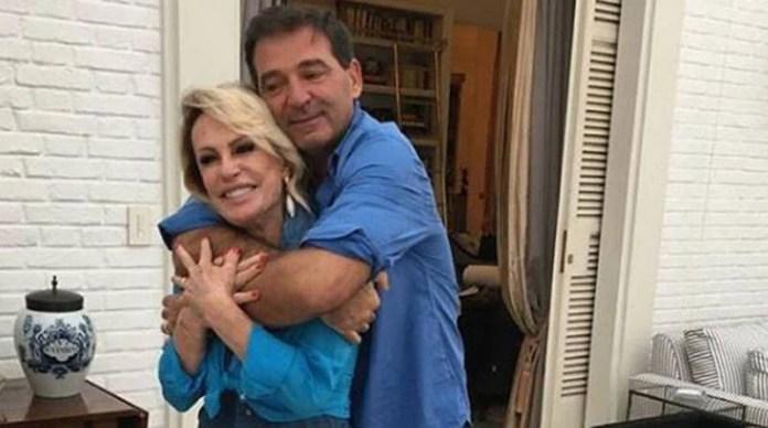 Ana Maria Braga e Johnny Lucet terminam casamento após um ano juntos (foto: Reprodução)
