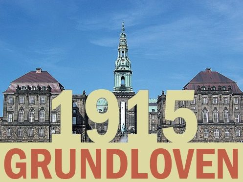 Ny bog om 1915-grundloven er ikke for begyndere