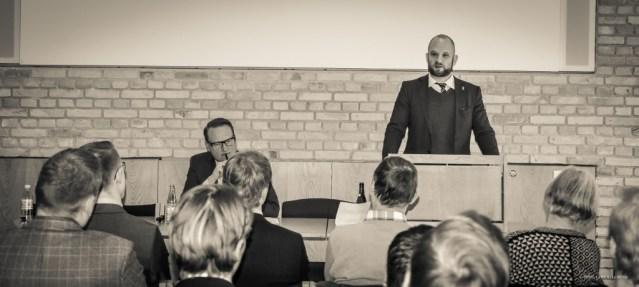 """Historiker og debattør Niels Jespersen taler om """"Blæst over Europa"""" og konservatives svigt."""