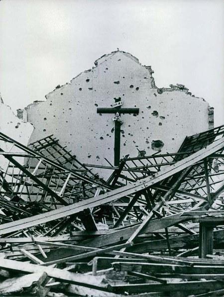 Ødelagt kirke