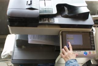 New printing systems are said to be more cost efficient. Photo: Aarti Bhana