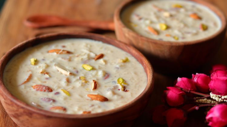 serve the rice kheer chilled or hot