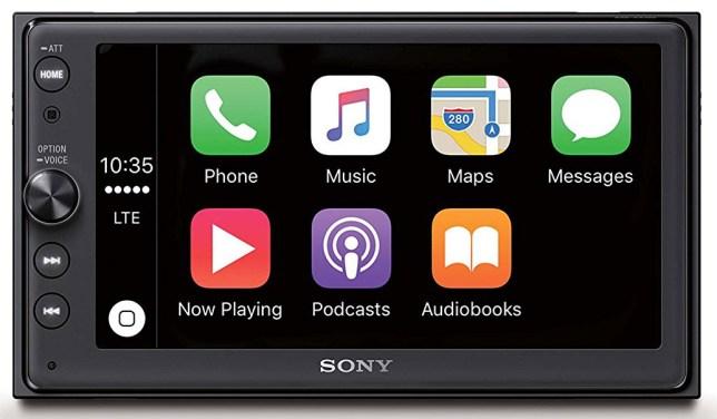apple carplay radio autoradio dab+