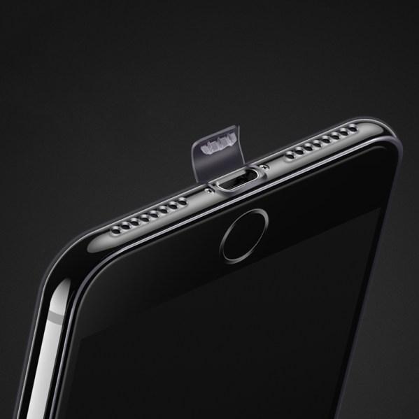 iphone x hoesje tranparant met dust plug: zeldzaam!